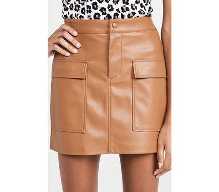 Vegan skirt - fall outfits under $100  #LTKSeasonal #LTKstyletip