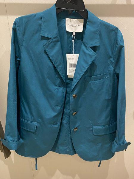Cotton blazer by Lafayette 148   #LTKworkwear