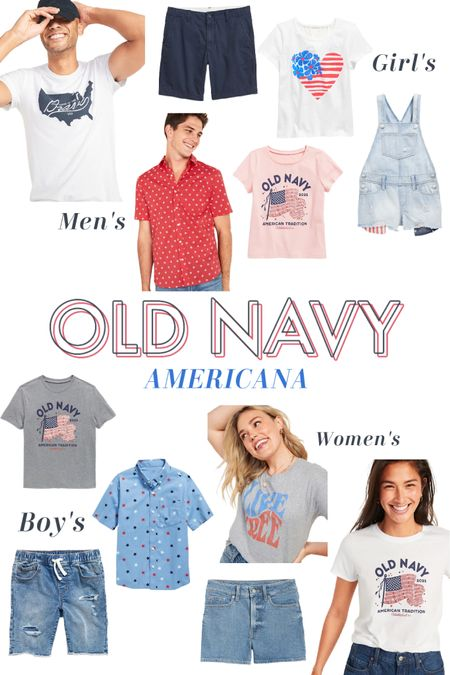 Check out Old Navy's Americana section! Tons of cute stuff for the 4th of July!! 🇺🇸⭐️🤩 http://liketk.it/3iqB3 #liketkit @liketoknow.it #LTKfamily #LTKstyletip #LTKunder50