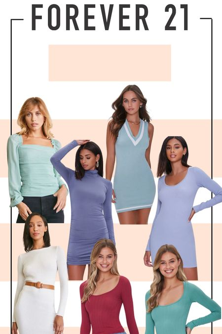 My latest Forever 21 Fall haul! I think mini and midi dresses are perfect for this weather transitional period — and these blue and purple tones are to die for! #forever21 #fallclothes #bodycon #dresses #mididress #sweater  #LTKSeasonal #LTKunder100 #LTKHoliday