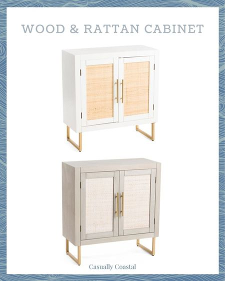 Good T.J. Maxx and Marshalls finds always go quickly so don't wait on these wood & rattan cabinets if you're interested! Perfect for a small entryway table, in a bathroom, hallway, or really any space in your home!  @liketoknow.it @liketoknow.it.home #liketkit #LTKhome #LTKstyletip http://liketk.it/3hpcy   coastal decor, beach house decor, beach decor, beach style, coastal home, coastal home decor, coastal decorating, coastal house decor, home accessories decor, coastal accessories, beach style, blue and white home, coastal interiors, modern coastal, rattan cabinets, entryway chest, entryway table, entryway furniture, coastal furniture, TJ maxx home, tj maxx home decor, tj maxx finds, Marshalls home, marshalls home decor, marshalls finds, white cabinet, gray cabinet