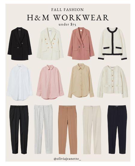 Workwear under $75 from H&M   #LTKunder100 #LTKworkwear #LTKunder50
