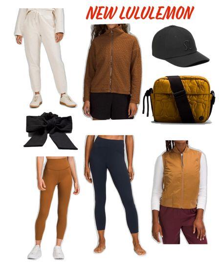 Vest, fall fashion, leggings   #LTKfit #LTKunder100 #LTKstyletip