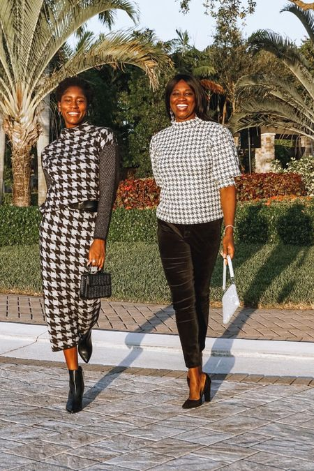 These houndstooth loos will have you are ready tow your holiday zoom parties and family gatherings. Versatile pieces to style and always a classic!   Follow me on the LIKEtoKNOW.it shopping app to get the product details for this look and others   http://liketk.it/34gKd #liketkit @liketoknow.it   #LTKsalealert #LTKstyletip #StayHomeWithLTK