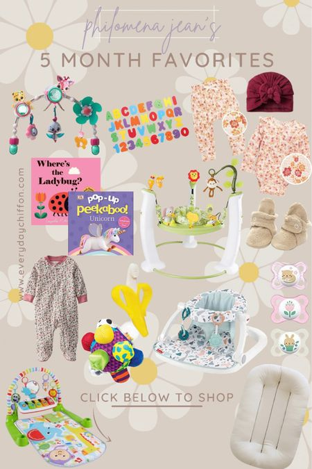 5 month baby toys, baby favorites baby registry Baby books, baby playmate Baby girl clothes m Amazon finds, baby chair Gifts for baby    #LTKbaby #LTKGiftGuide #LTKbump