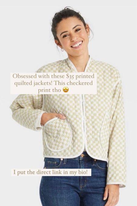 Cutest $35 quilted jackets! 🤩  #LTKsalealert #LTKunder50 #LTKstyletip