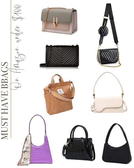 Must have bags on Amazon under $100  #LTKunder100 #LTKitbag #LTKstyletip