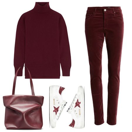 Wanna step up your outfit game? Go for a monochromatic look in a rich fall color 👌🏼 Shop this look + more chic outfit inspo by following merrittbeck on the @shop.ltk app ♥️  #tssedited #thestylescribe #ootd #sweaterweather #autumn #turtleneck #burgundy   #LTKshoecrush #LTKstyletip