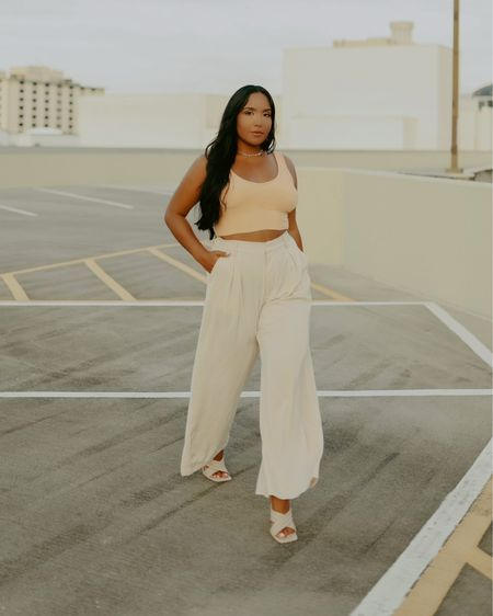 Styles these wide leg trousers with a pop of color 🍊 and some classic cross over mules ⚡️  🤎For any baddies out there who are mid sized or size 8-10 this is for you!  🤎 Shop my daily looks by following me on the LIKEtoKNOW.it shopping app  🤎 Check out my links in my bio for more content!  . . . #midsizestyle #midsizefashion #midsize #midsizegals #midsizeblogger #affordablefashion #affordablestyle #style #summeroutfits #shoes #summershoes #summerbag #katespade #shein #sheingals #zara #zaradress #zarawoman #zaraoutfit #orlandomodel #latina #nightout #nightlife #ootd #hotmodel #orlandonightlife #ootdfashion #ootdinspiration #ootdstyle http://liketk.it/3hwLe #liketkit @liketoknow.it #LTKshoecrush #LTKworkwear #LTKfit @liketoknow.it.europe @liketoknow.it.brasil Shop your screenshot of this pic with the LIKEtoKNOW.it shopping app