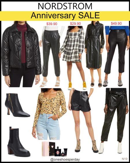 Nordstrom Anniversary Sale  Faux Leather Leggings  Faux Leather Joggers  Booties       Nordstrom Anniversary Sale 2021 Nordstrom Anniversary Sale picks  2021 Nordstrom Anniversary Sale  NSale 2021 picks  NSale picks  Nsale 2021  Nsale   http://liketk.it/3l9gp @liketoknow.it #liketkit #LTKDay #LTKsalealert #LTKunder50 #LTKtravel #LTKworkwear #LTKshoecrush #LTKunder100 #LTKitbag #nsale #nordstrom #nordstromanniversarysale #nordstromanniversary2021 #fauxleatherleggings #joggers #leggings #fauxleather #plaiddresses #booties #boots #falltrends #falloutfits