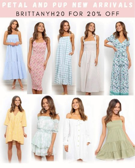 BRITTANYH20 for 20% off 💕 . . .  http://liketk.it/3i5iZ  #liketkit @liketoknow.it #LTKstyletip #LTKunder50 #LTKunder100 dress, summer dress, wedding guest dress, white dress, maxi dress, mini dress, midi dress