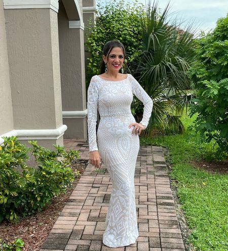 Wedding Elegant Gown 😍  #LTKunder100 #LTKwedding #LTKstyletip