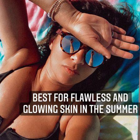 GET FLAWLESS AND GLOWING SKIN IN THE SUMMER with these products. http://liketk.it/3inTc #liketkit @liketoknow.it #LTKbeauty #LTKtravel #LTKsalealert #ltksummer #LTKseasonal #skincare You can instantly shop these by following me on the LIKEtoKNOW.it shopping app