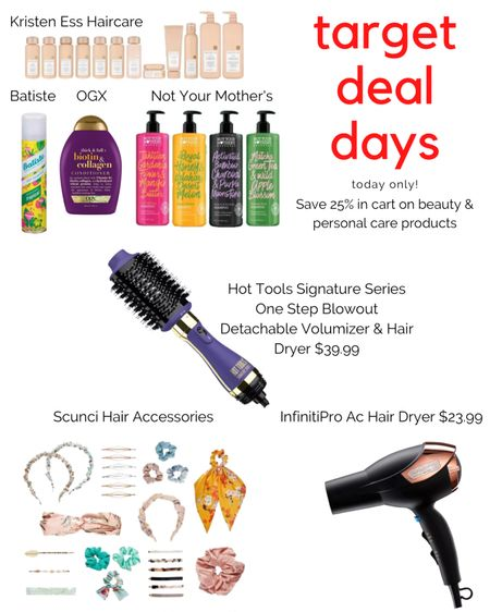 Target Deal Days! Online only! Save 25% on beauty and hair products. http://liketk.it/3ic7n #liketkit @liketoknow.it #LTKbeauty #LTKsalealert #LTKstyletip Shop your screenshot of this pic with the LIKEtoKNOW.it shopping app