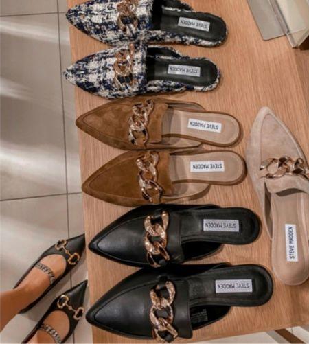Pointed Toe Mule, Ballet Flats, Save or Splurge on these Fall Shoes  #LTKunder100 #LTKshoecrush #LTKstyletip