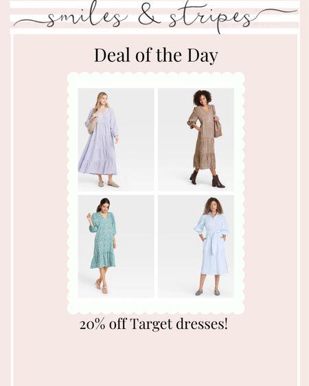 20% off Target dresses for spring! http://liketk.it/398Dm @liketoknow.it #liketkit #LTKbump #LTKunder50 #LTKstyletip