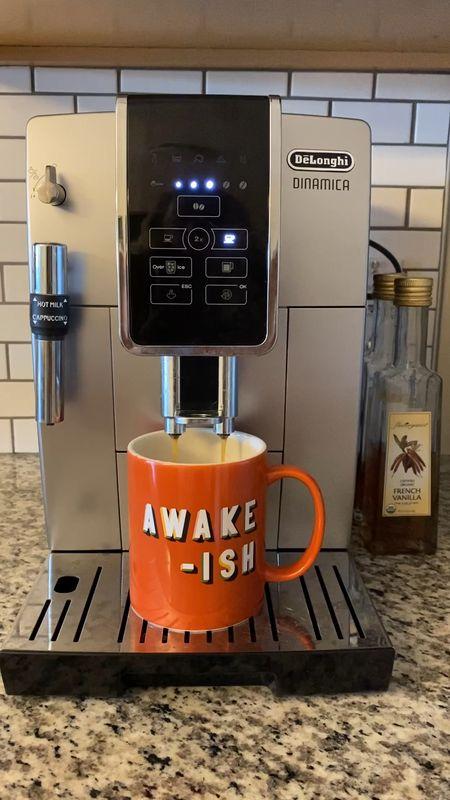 Awake with an espresso machine.       #LTKhome