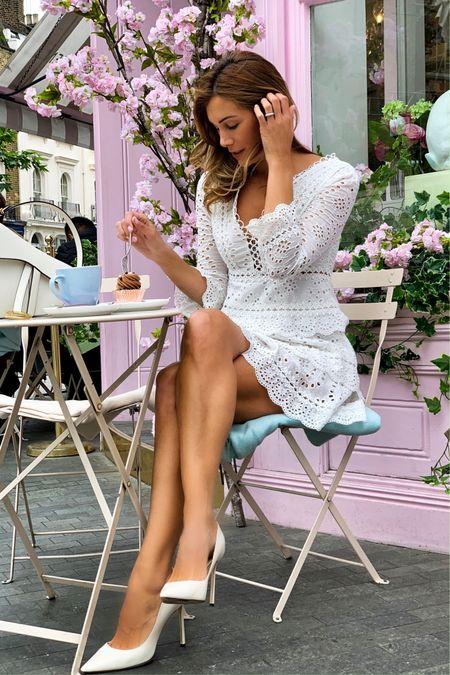 Embroidered white dress  🌸 http://liketk.it/2BJmS #liketkit #LTKunder100 #LTKspring @liketoknow.it @liketoknow.it.europe #LTKsalealert #LTKeurope    You can instantly shop my looks by following me on the LIKEtoKNOW.it app