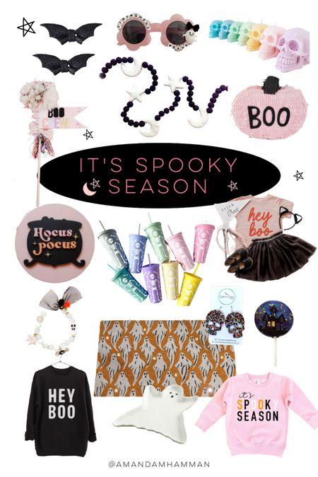 Halloween, home, doormat, boo basket, sweatshirt, girls   #LTKkids #LTKSeasonal #LTKfamily