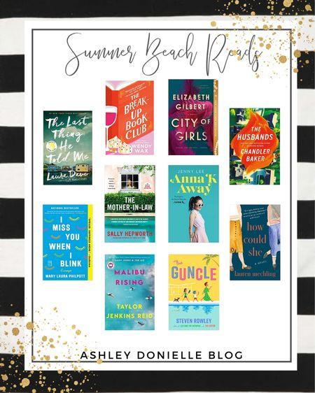 Perfect reads for summer at the beach! http://liketk.it/3hB5B #liketkit @liketoknow.it #LTKtravel #LTKunder50 #books #summerreads