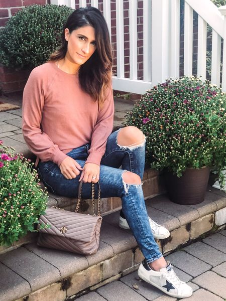 I'm really loving Fall 🍂🍁 and this weather and can't wait to dress for it. This sweater is so soft and loving the color. It's true to size as well. #abercrombie #toryburch #aexme #americaneagle   #LTKstyletip #LTKunder50 #LTKsalealert @liketoknow.it #liketkit http://liketk.it/2XEZz