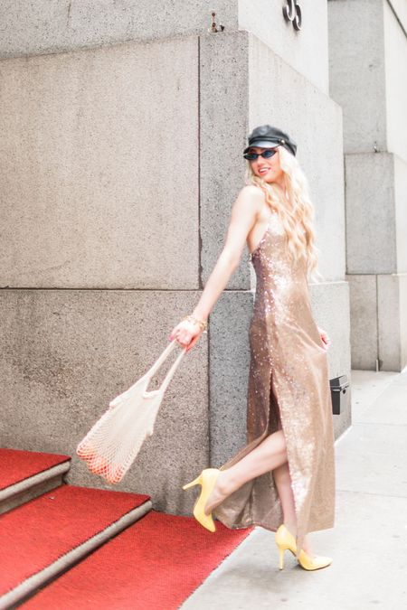 Tiny shades and sequins Fidi NYC   #LTKitbag #LTKeurope #LTKunder100