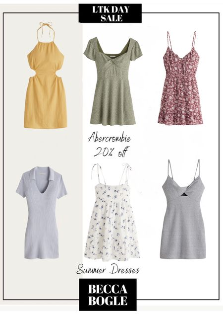 Summer dresses LTKDAY SALE Abercrombie 20% off   #LTKstyletip #LTKDay #LTKsalealert