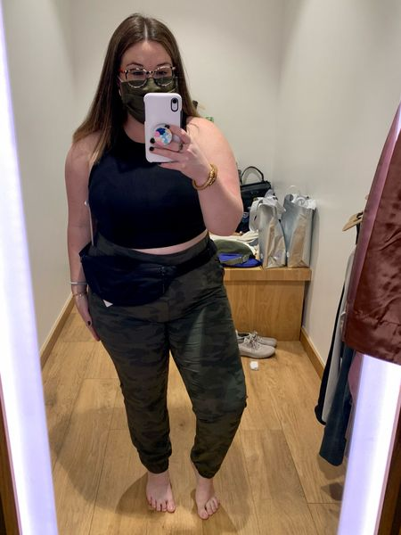 Part 1 of my Athleta in store plus size try on! Head to @herphilly on Instagram for the full try on.   #LTKcurves #LTKfit
