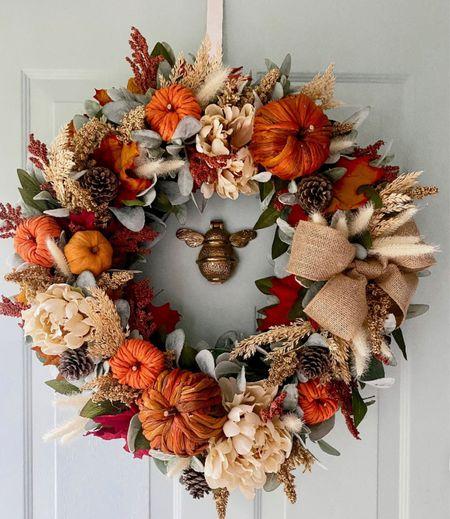 Fall decor, fall wreath, pumpkin spice, fall, decor   #LTKSeasonal #LTKhome
