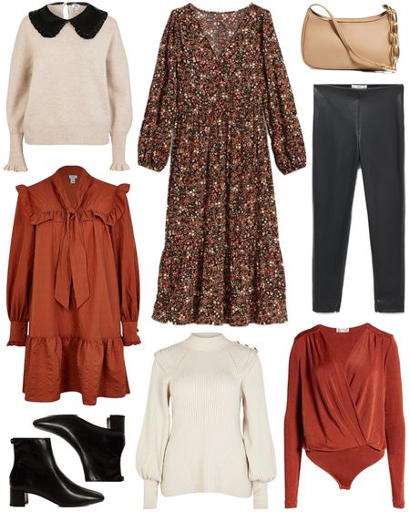 Under $100 roundup! If you're looking for a pair of budget-friendly leather leggings, these are only $30 🙌🏼   #tssedited #thestylescribe #fall #budgetfriendly #red #floral #booties #leather #leggings #sweater   #LTKunder50 #LTKSeasonal #LTKunder100