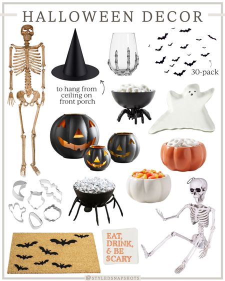 Rounded up a few Halloween Decor pieces that caught my eye! These witch hats were an Amazon find + come in a 12-pk for only $17 and I plan to hang them from our porch.  #HalloweenDecor   #LTKhome #LTKunder50 #LTKfamily