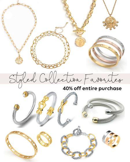 The Styled Collection is 40% off for the #LTKSale! Sale ends tomorrow!!   #LTKsalealert #LTKunder100 #LTKSale