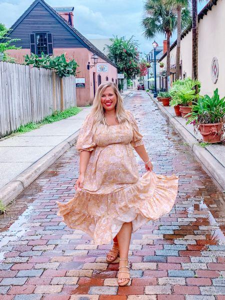 Use code BLAKELEY15 off is twirly bump-friendly dress.    #LTKbump #LTKstyletip #LTKcurves