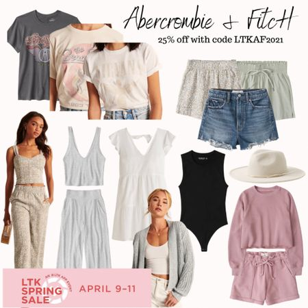 LTK Sale is going strong this weekend! Make sure to stop by my favorite brand A&F for totally drool worthy pieces to get you through spring & summer!   #LTKunder100 #LTKsalealert #LTKSpringSale