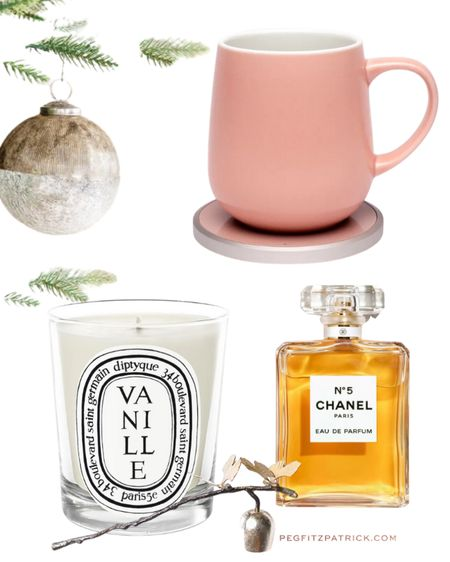 Perfect for your work at home mama or bestie. Or you! Will arrive by Christmas Eve if you order today 10/11. The mug keeps your drink toasty warm and doubles as a wireless charging base. It doesn't get more classic than Chanel #5 and Diptyque candles are a lovely treat. http://liketk.it/33Fgm #liketkit @liketoknow.it #LTKgiftspo #StayHomeWithLTK #LTKhome #lastminutechristmas #christmasgift #giftsforher #treatyourself