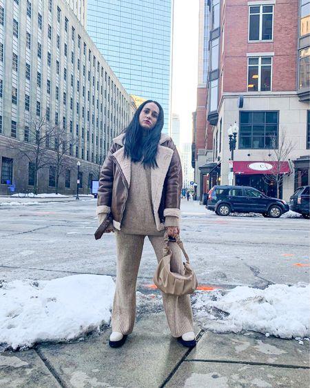 Brown attire #monochrome #beigeoutgit #hmxme  #LTKstyletip #LTKcurves #LTKSeasonal