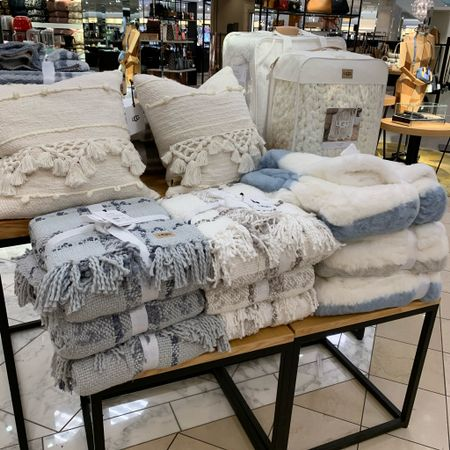 These new ugg pillows and blankets from Nordstrom are to die for! Love the textures and colors for fall and winter! #nordstrom #ugg #blanket #pillow #home #homedecor #decor  #LTKunder100 #LTKhome #LTKSeasonal
