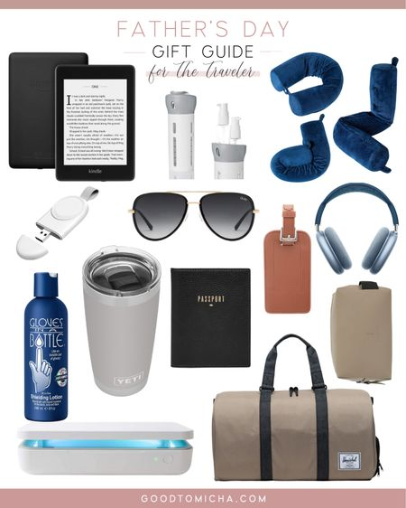 Father's Day gift guide for the traveling dad! http://liketk.it/3haPp #liketkit @liketoknow.it #LTKmens #LTKtravel #travelessentials #fathersday #giftguide