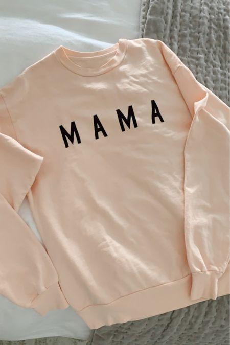 Mama sweater 🤍  http://liketk.it/3apl2 #liketkit #LTKfamily #LTKstyletip #LTKkids @liketoknow.it @liketoknow.it.family @liketoknow.it.home