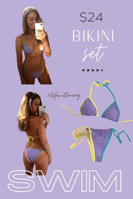 Amazon bikini. Wearing L.   #LTKswim #LTKtravel #LTKunder50