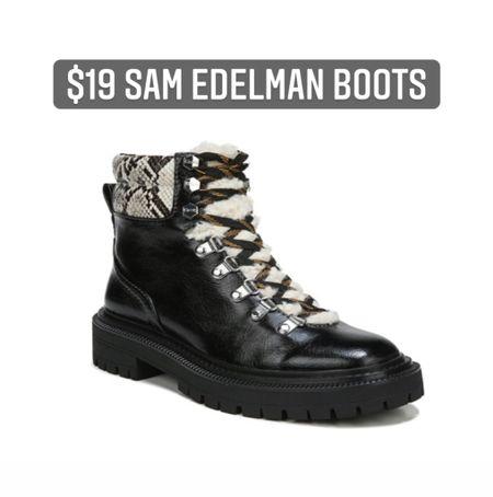 Sam Edelman boots   #LTKunder50 #LTKshoecrush #LTKsalealert