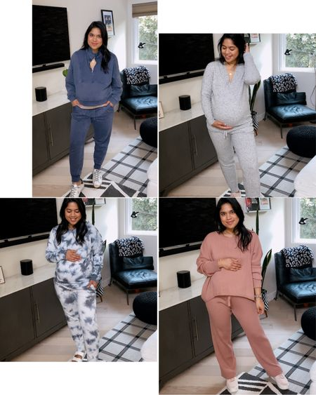 LOUNGEWEAR for the win!! At home style / comfy looks / cozy looks / joggers / sweatshirt / weekend style   #LTKunder50 #LTKNewYear #StayHomeWithLTK