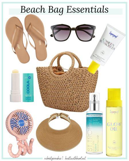 Beach bag essentials http://liketk.it/3fFLF #liketkit @liketoknow.it #LTKtravel #LTKunder50 #LTKitbag