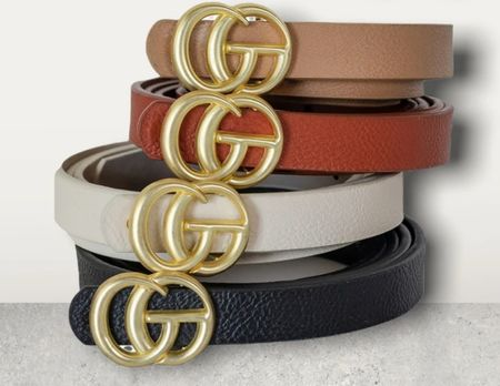 Here's some fun designer inspired belts! Loving all the colors! And they're perfect for fall!! And they're under $20!!   #LTKstyletip #LTKunder50 #LTKSeasonal