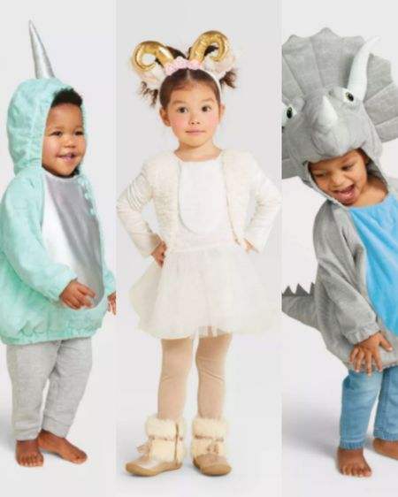 Here are 10 adorable options $20 and under from Target so that you can call dibs early!   Who said Halloween costumes have to be expensive? I've always let my little ones pick out their costumes... yes, even when they decided they decided they needed the tacky hotdog costumes. http://liketk.it/2UY6y #liketkit @liketoknow.it #LTKbaby #LTKfamily