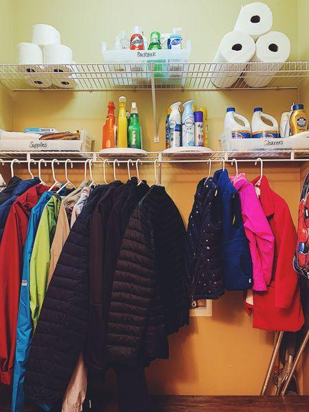 Closet organization   #LTKhome #LTKSeasonal #LTKkids