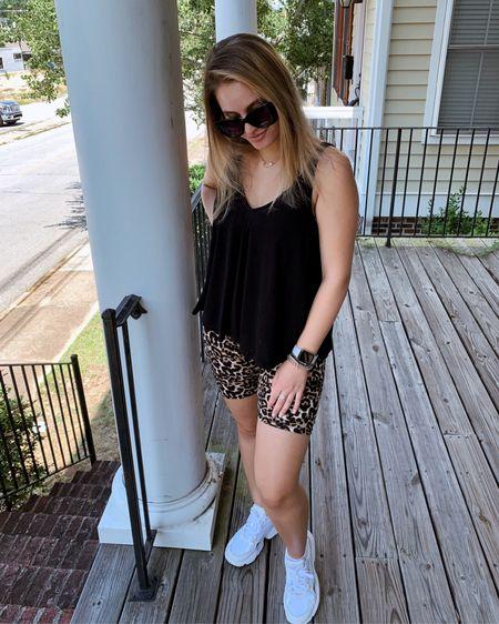 new porch who dissss 😇 our house is slowly coming together & I am beyond obsessed. also obsessed with the shoes I've been eyeing for SO long, which jake got me for my (early) bday aaaand he did real good if you can't tell ☺️ 🖤   — you can instantly shop all of my looks by following me on the LIKEtoKNOW.it app ✨✨✨ http://liketk.it/2EdlV #liketkit @liketoknow.it