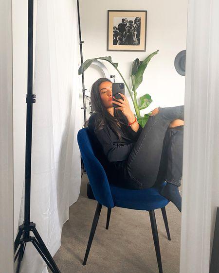 Working from home #plantmom #allblackoutfit #blackjeans #workfromhome http://liketk.it/3ex6p #liketkit @liketoknow.it