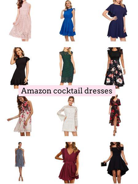 Amazon fashion cocktail dresses. Amazon finds. Wedding guest dresses  .  http://liketk.it/3hSxS  #liketkit @liketoknow.it #LTKstyletip #LTKunder50 #LTKwedding