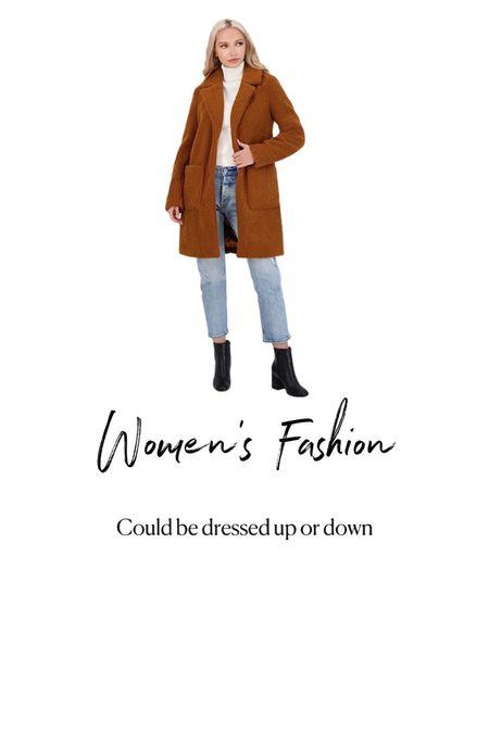 Amazon  Fashion. Womens fall outfit ideas. Fall winter coat   #LTKSeasonal #LTKHoliday